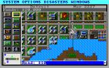 SimCity Graphics Set 2: Future Cities DOS Future Europe - Futuristic buildings. (VGA)