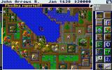 SimCity Graphics Set 1: Ancient Cities Amiga Medieval Times - Flood reported!