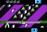 Paperboy Apple II Obstacle course - crashed!