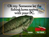 Rapala Pro Fishing Windows Someone has a sense of humor on the loading screen