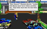 Police Quest 2: The Vengeance Atari ST This lady has had here car stolen too!