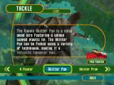 Rapala Pro Fishing Windows You can get good information about the different kinds of tackle used in the game