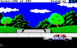 Police Quest: In Pursuit of the Death Angel Amiga At the park.