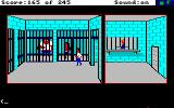 Police Quest: In Pursuit of the Death Angel Amiga Marie has managed to get herself arrested.