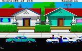 Police Quest: In Pursuit of the Death Angel Atari ST Arresting a dangerous suspect.