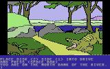 Death in the Caribbean Commodore 64 An alligator!