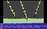 Death in the Caribbean Commodore 64 Bad storm!