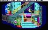 King's Quest IV: The Perils of Rosella Atari ST You can tell that Genesta is the good fairy - her castle has hand rails!