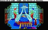 King's Quest IV: The Perils of Rosella Atari ST Genesta is sick in bed.