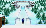 Winter Challenge: World Class Competition Amiga Ski Jump - About to start!