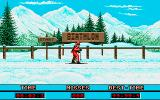 Winter Challenge: World Class Competition Amiga Biathlon - At the start.