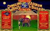 Circus Games Amiga Title screen.