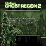 Tom Clancy's Ghost Recon 2: 2007: First Contact PlayStation 2 The game's memory requirements