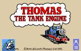 Thomas the Tank Engine & Friends Amiga Loading screen.