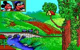 Goofy's Railway Express Amiga Through the countryside.