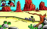 Goofy's Railway Express Amiga Through the desert.