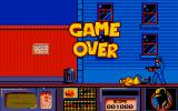 Dick Tracy Amiga Got mowed down - Game Over!
