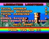 James Pond: Underwater Agent Amiga Mission 1 - Completed the mission!