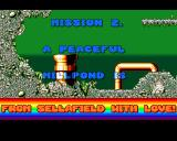 James Pond: Underwater Agent Amiga Mission 2 - Objectives