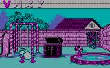Donald's Alphabet Chase DOS Searching in the backyard (CGA)