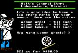 The Oregon Trail Apple II Buying spare parts.