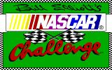Bill Elliott's NASCAR Challenge Amiga Title screen.