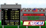 Bill Elliott's NASCAR Challenge Amiga Car number 27.