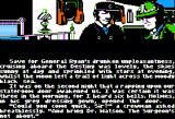 "Sherlock Holmes in ""Another Bow"" Apple II Starting the game."