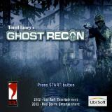 Tom Clancy's Ghost Recon PlayStation 2 The title screen