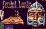 Feudal Lords Amiga Title screen.