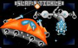 Shoot 'em up Construction Kit  Amiga Example game - Slap 'n' Tickle (AKA Space Hawk) title screen.