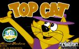 Top Cat in Beverly Hills Cats Amiga Title screen.