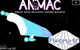 ANIMAC DOS Title screen