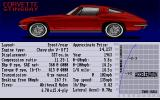 The Duel: Test Drive II Car Disk - The Muscle Cars Amiga Corvette Stingray