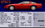 The Supercars: Test Drive II Car Disk Amiga Corvette ZR1