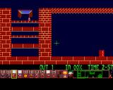 Xmas Lemmings Amiga Level 3.
