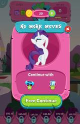My Little Pony: Puzzle Party Android You ran out of moves. Failed!