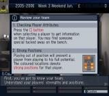 Let's Make a Soccer Team! PlayStation 2 The manager drops in to give some advice on playing the game