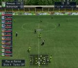 Let's Make a Soccer Team! PlayStation 2 During the match the manager can quickly see the status of each player