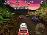 International Rally Championship PlayStation Arcade Mode: On the grid on the Yosemite track
