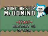 No One Can Stop Mr. Domino PlayStation Title