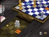 No One Can Stop Mr. Domino PlayStation Starting level one. No Dominoes are yet placed (88 available)