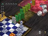 No One Can Stop Mr. Domino PlayStation Starting the next chain. Note the dice icon on the ground.