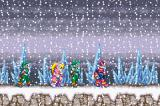 Mega Man Zero 3 Game Boy Advance Walking in the Snow