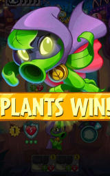 Plants vs. Zombies: Heroes Android Plants win this game.