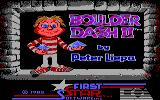 Super Boulder Dash PC Booter Boulder Dash II Title Screen (Tandy)