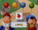 Noddy: Detective for a Day V.Smile To receive the apple, Noddy must find the first letter in the word apple.