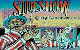 SideShow Amiga Title screen - Step right up! Step right up!