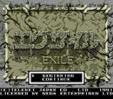 Exile Genesis Title screen