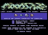 Moonspire Commodore 64 Title screen